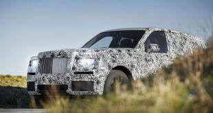 2019 Rolls Royce Project Cullinan front