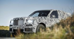 2019 Rolls Royce Project Cullinan front