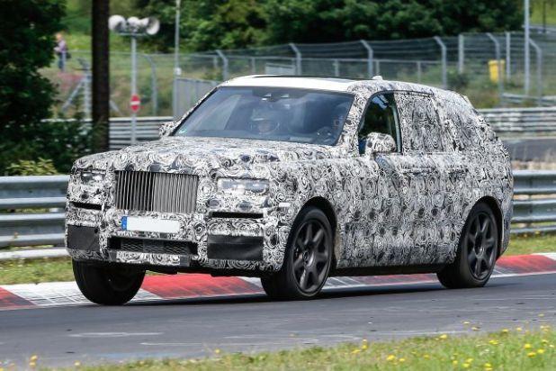 2019 Rolls Royce Project Cullinan side