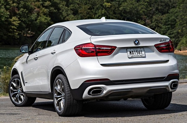 2019 Bmw X6 Rear View 2019 And 2020 New Suv Models