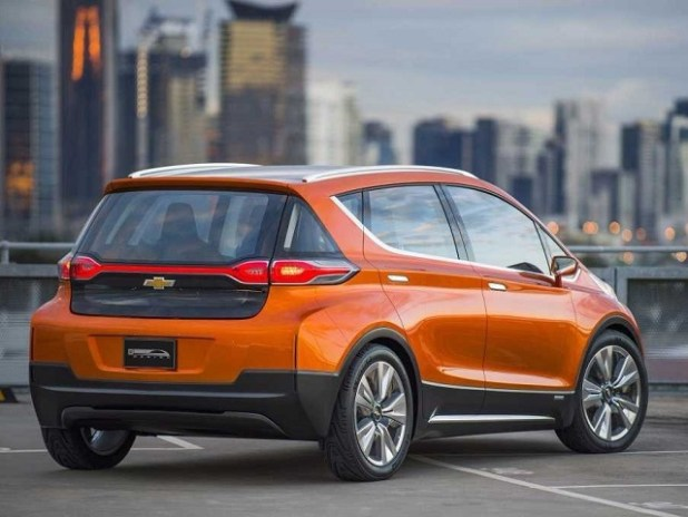 2018 Chevy Bolt Electric SUV rear view
