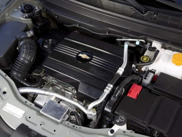 2018 Chevy Captiva engine