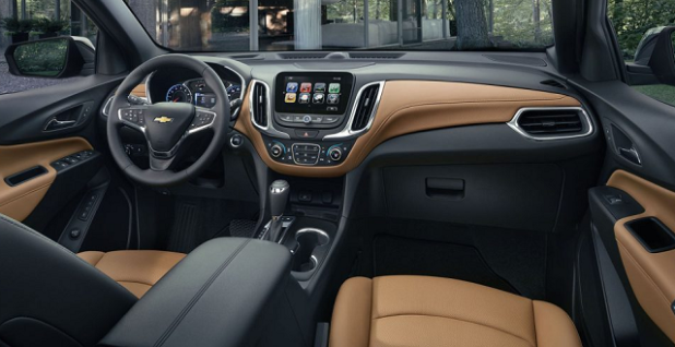 2018 Chevy Captiva interior