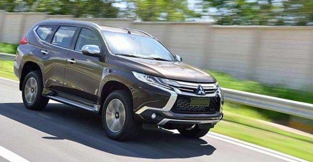2018 Mitsubishi Pajero side