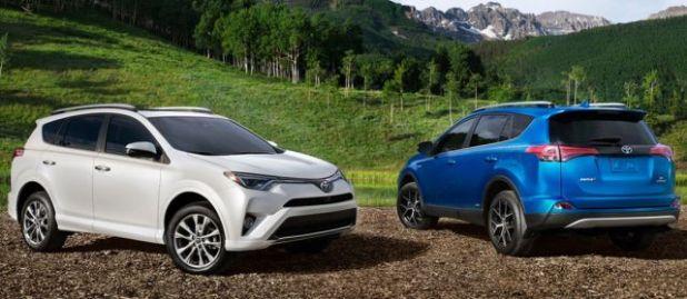 2018 Toyota RAV4 Hybrid side