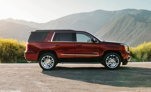 2019 GMC Yukon side view