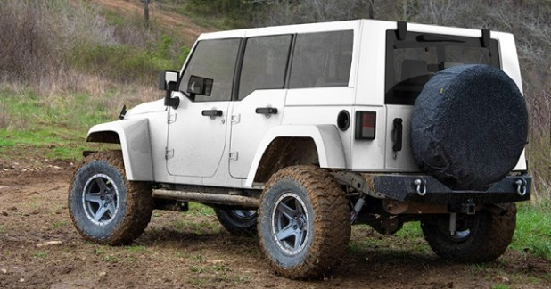 2019 Jeep Wrangler diesel rear view