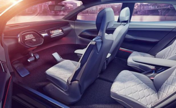 2019 VW ID Crozz interior