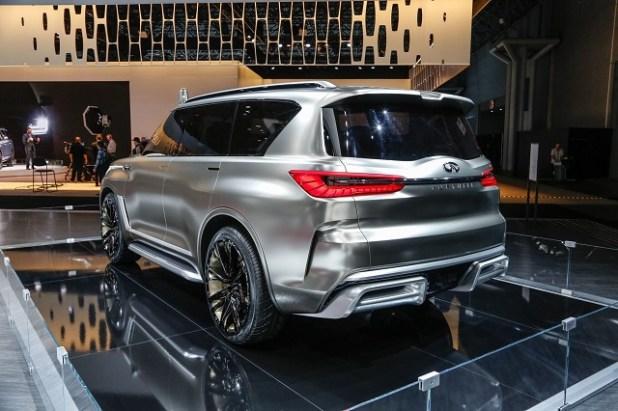 2019 Infiniti Qx80 rear view
