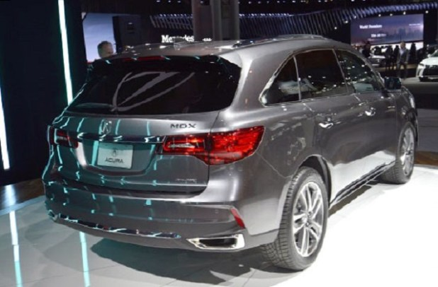 2018 Acura MDX Hybrid rear view