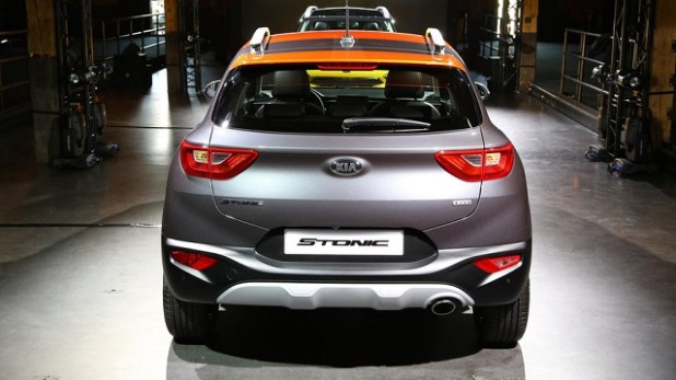 2018 Kia Stonic rear view