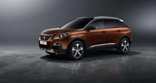 2018 Peugeot 3008 front