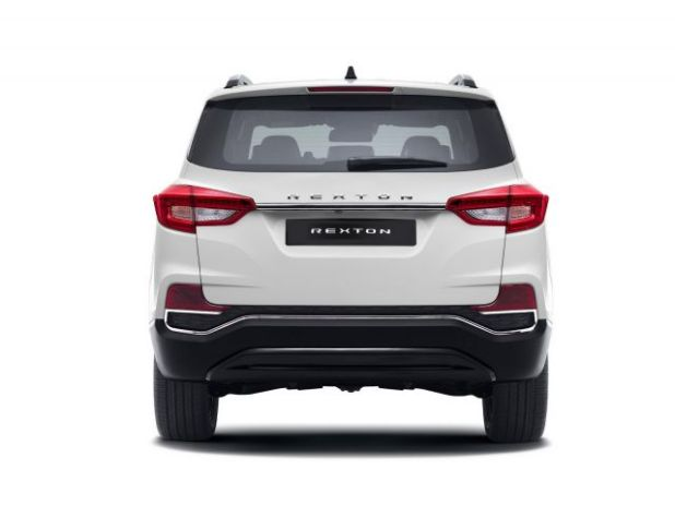 2018 SsangYong Rexton rear