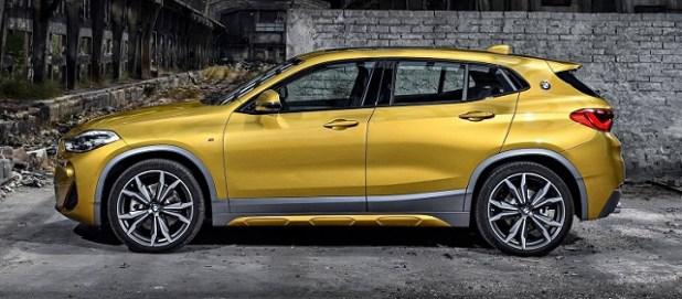 2019 BMW X2 side view