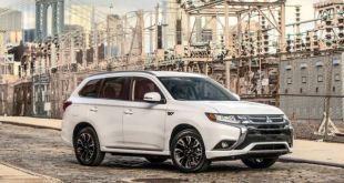 2019 Mitsubishi Outlander front