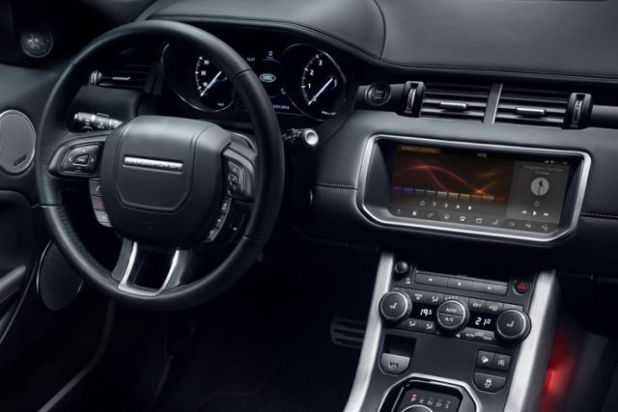 2019 Range Rover Evoque MK2 interior