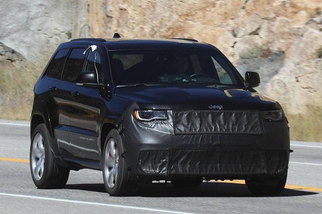 2019 Jeep Grand Cherokee Srt Spy 2019 And 2020 New Suv