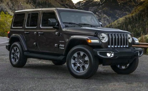 2019 jeep wrangler unlimited front view