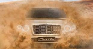 Bentley small electric SUV Concept