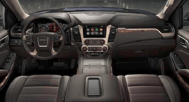 2019 gmc acadia interior