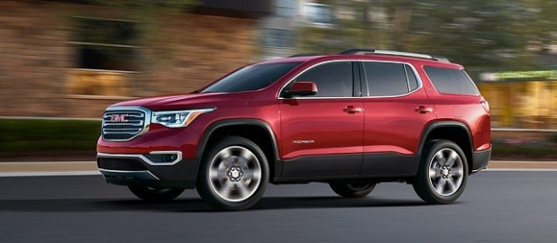 2019 GMC Acadia side view