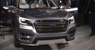 2019 Subaru Ascent front