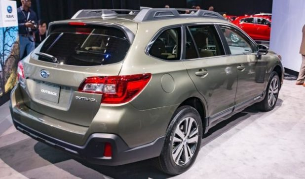 2019 Subaru Outback rear