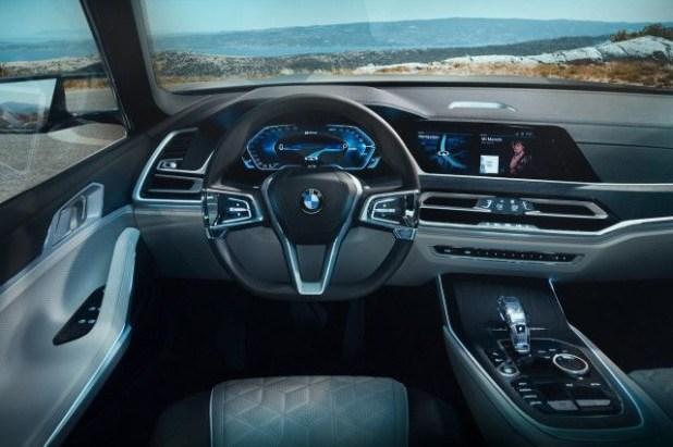 2019 bmw fuel cell suv interior