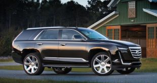 2020 Cadillac Escalade side