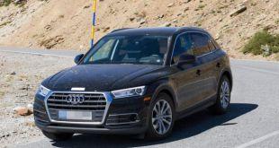 2019 Audi Q5 Hybrid front view