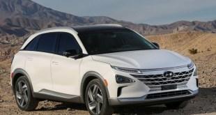 2019 Hyundai Nexo front view