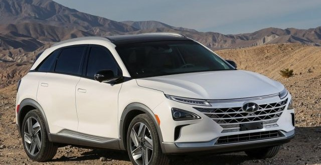 2019 hyundai nexo fuel cell first look  2019 and 2020 new