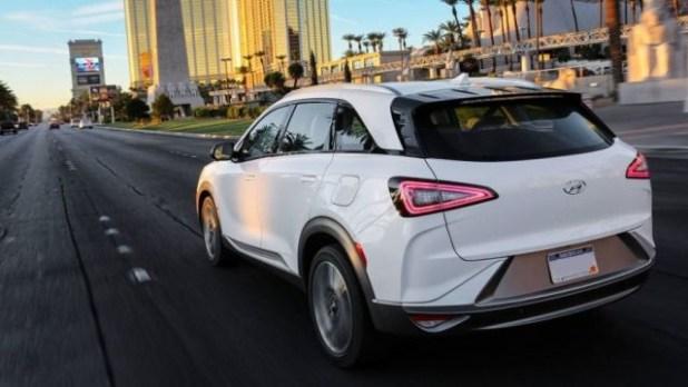 2019 Hyundai Nexo rear