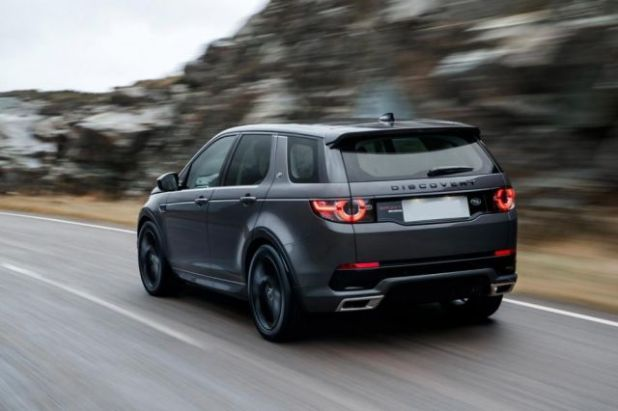 2019 Land Rover Discovery Sport rear