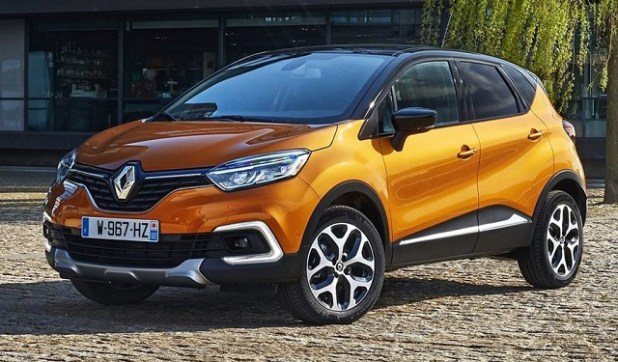 2019 Renault Captur front view