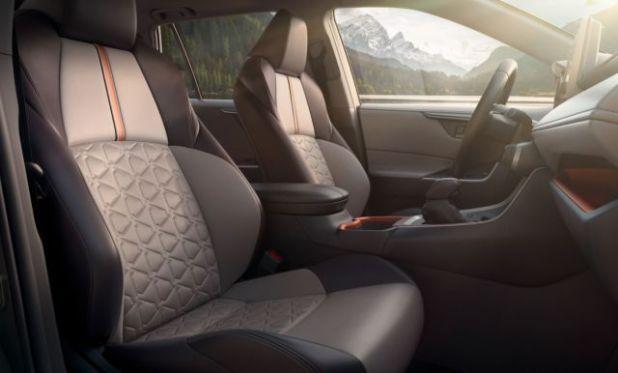 2019 Toyota RAV4 Hybrid interior view
