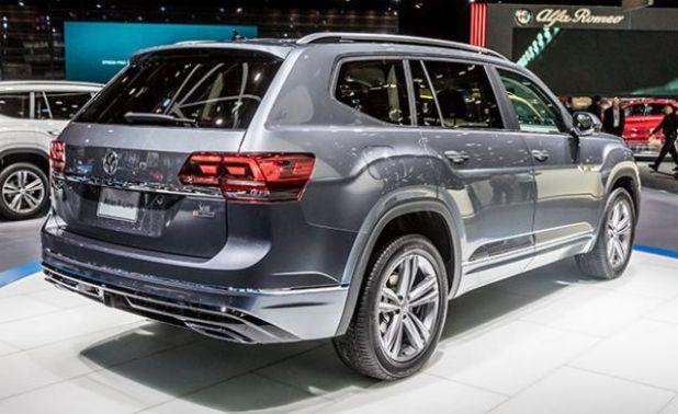 2019 Volkswagen Atlas rear
