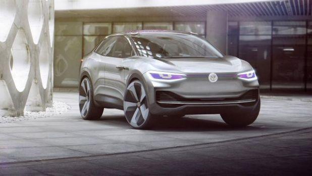 Volkswagen ID Crozz front