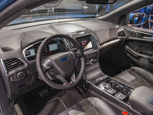 2019 Ford Edge St Interior View 2019 And 2020 New Suv Models