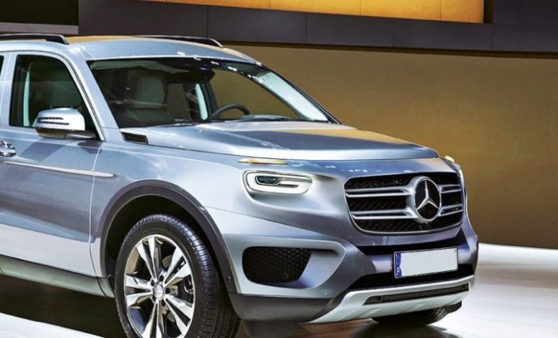 2019 Mercedes-Benz GLB Caught Camouflaged - 2019 and 2020 New SUV Models