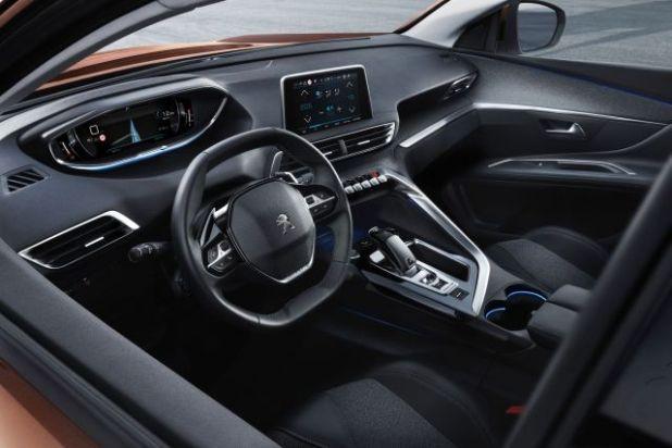 2019 Peugeot 3008 interior