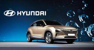 2019 Hyundai Tucson Fuel Cell