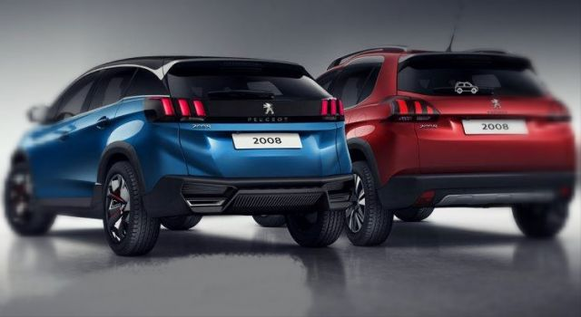 2019 peugeot 2008 rear compare 2019 and 2020 new suv models. Black Bedroom Furniture Sets. Home Design Ideas