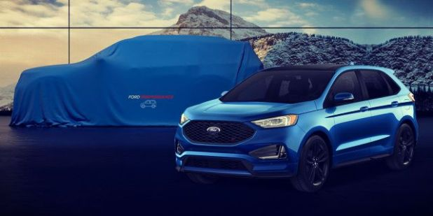 2020 Ford Explorer teaser