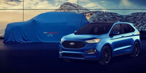 2020 Ford Explorer teaser