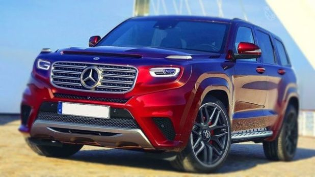 2020 Mercedes GLG front