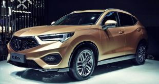 2019 Acura CDX front look