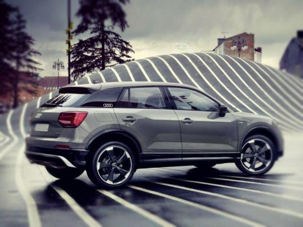 2019 Audi Q2 rear