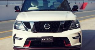 2019 Nissan Patrol front