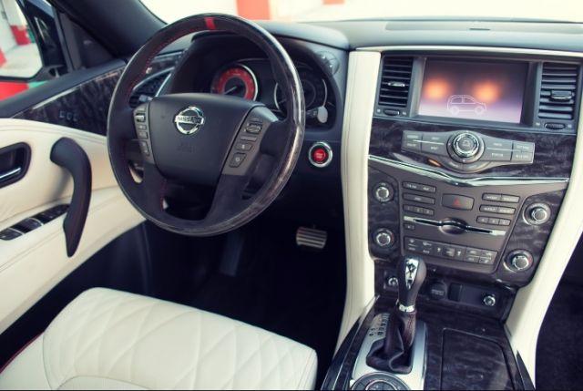 2019 Nissan Patrol interior - 2019 and 2020 New SUV Models